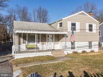 Rockville Single Family Home For Sale: 1016 Baltimore Road