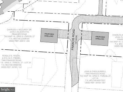 Pasadena Residential Lots & Land For Sale: Frances Road
