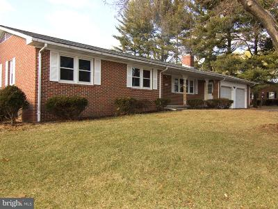 Sykesville Single Family Home For Sale: 6202 Long Meadow Drive