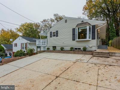 Takoma Park Single Family Home For Sale: 6407 5th Avenue