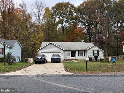 Fredericksburg VA Single Family Home For Sale: $225,000