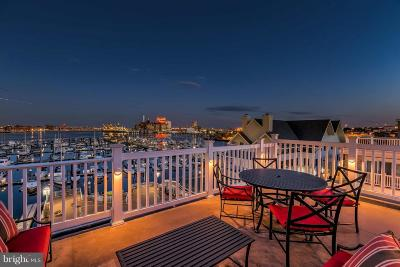 Baltimore Townhouse For Sale: 1200 Harbor Island Walk