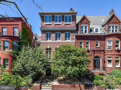 Washington Single Family Home For Sale: 2019 R Street NW