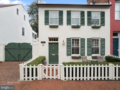 Washington Townhouse For Sale: 1307 35th Street NW