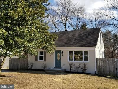 Severn Single Family Home For Sale: 1127 Reece Road