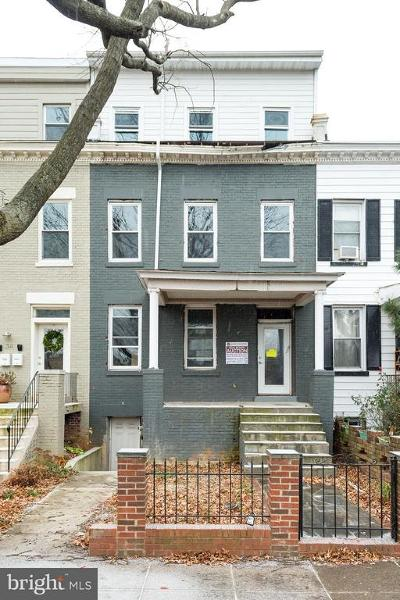 Washington Single Family Home For Auction: 36 Channing Street NW