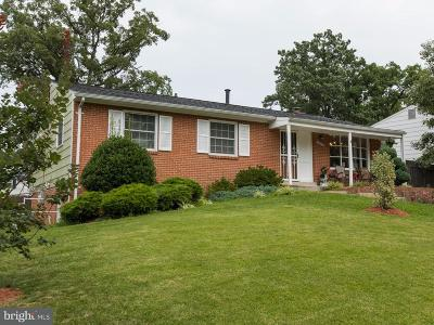 Beltsville Single Family Home Active Under Contract: 13108 Wellford Drive