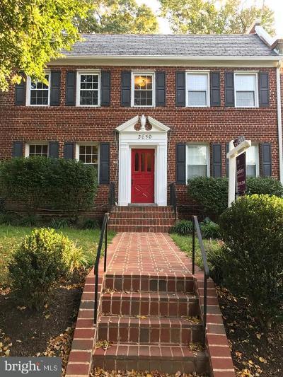 Washington Condo For Sale: 2650 39th Street NW #1