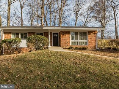 Rockville MD Single Family Home For Sale: $519,000