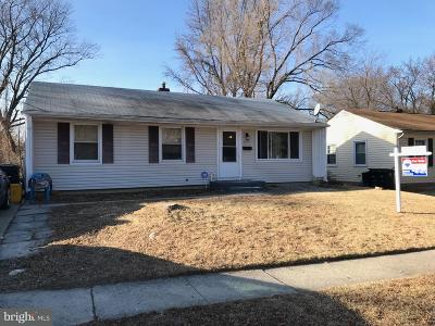 District Heights Single Family Home For Sale: 2509 Millvale Avenue