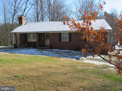 Rappahannock County Single Family Home For Sale: 278 Lizzie Mills Road