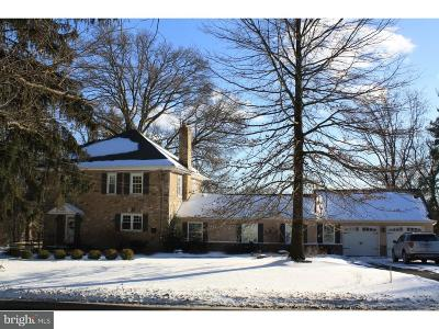 Huntingdon Valley Single Family Home For Sale: 2725 Edge Hill Road