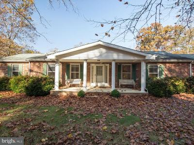 Single Family Home For Sale: 527 Halls Store Road