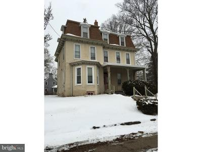 Single Family Home Under Contract: 143 E Mount Airy Avenue