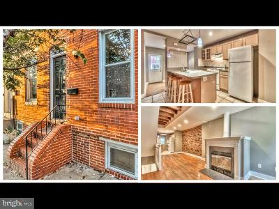 Federal Hill Townhouse For Sale: 50 W Randall Street