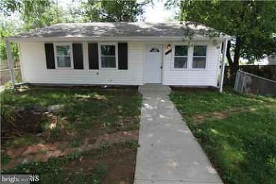 Oxon Hill Single Family Home For Sale: 805 Crawford Street