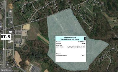 Calvert County, Saint Marys County Residential Lots & Land For Sale: Mt Wolf/Golden Beach Road