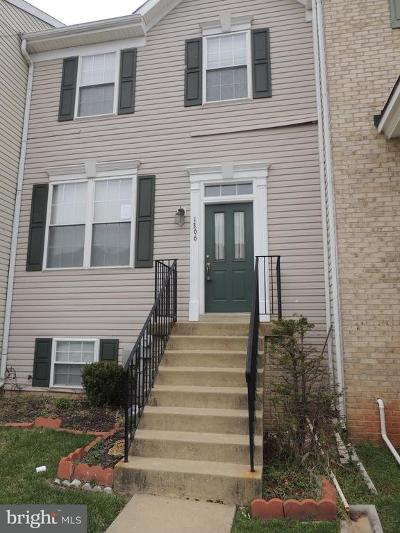 Hanover Townhouse For Sale: 1366 Hill Born Drive