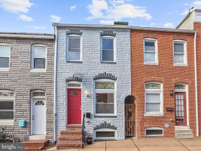 Fells Point Townhouse For Sale: 242 S S Castle Street
