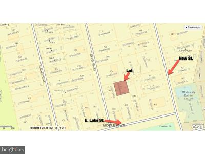 New Castle County, NEW CASTLE COUNTY Residential Lots & Land For Sale: E Lake Street #OFF