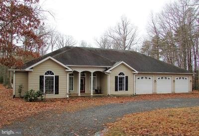 Spotsylvania Single Family Home For Sale: 11004 Plank Road