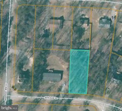 Caroline County Residential Lots & Land For Sale: 376 Birkdale Lane