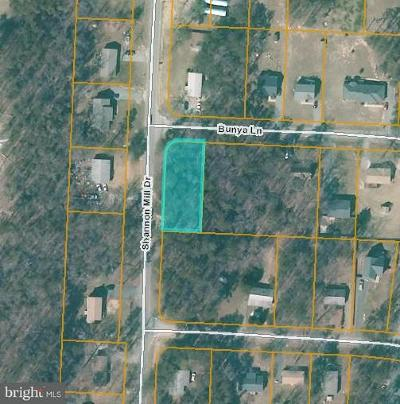 Caroline County Residential Lots & Land For Sale: Shanon Mill Drive