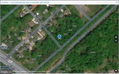 Lanham Residential Lots & Land For Sale: 1010 Railroad Avenue
