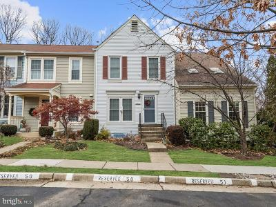 Alexandria Townhouse For Sale: 6480 Brick Hearth Court