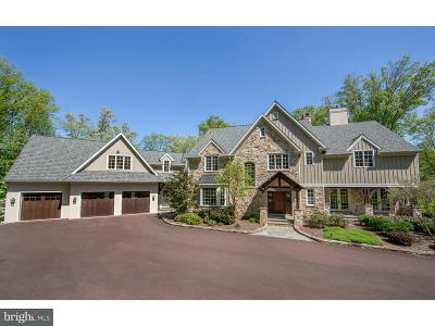 New Hope PA Single Family Home For Sale: $2,345,000