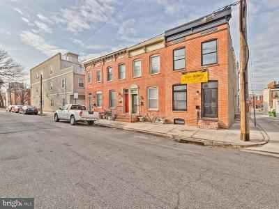 Canton, Canton Company, Canton Cove, Canton East, Canton, Patterson Park, Canton/Brewers Hill, Canton/Lighthouse Landing Townhouse For Sale: 612 Bouldin Street S