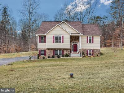 Warrenton Single Family Home For Sale: 7550 Frytown Road