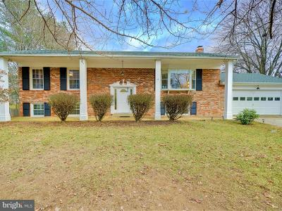 Howard County Single Family Home For Sale: 8037 McKenstry Drive