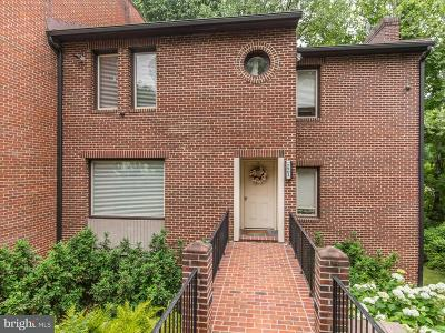 Bethesda Single Family Home For Sale: 7501 Bradley Boulevard