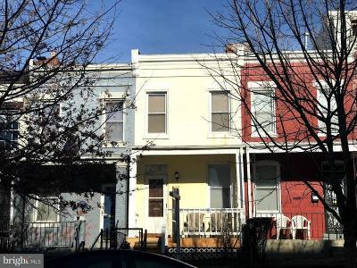 Washington Townhouse For Sale: 825 Euclid Street NW