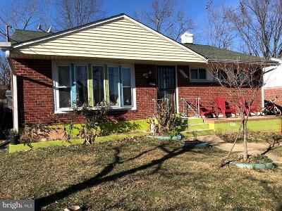 Hyattsville Single Family Home For Sale: 2212 Hannon Street