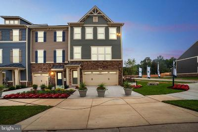 Glen Burnie Townhouse For Sale: 8256 Hickory Hollow Drive