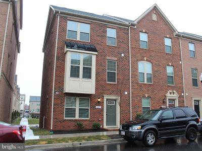 Baltimore Townhouse For Sale: 823 Macon Street S