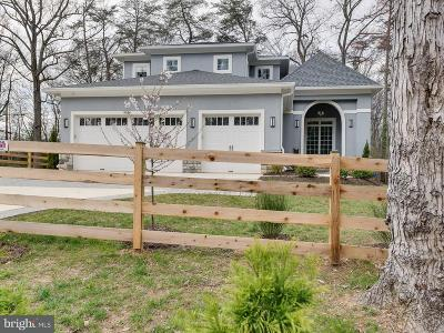 Bethesda Single Family Home For Sale: 9814 Fernwood Road