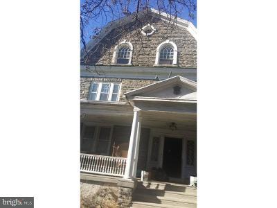 Philadelphia Single Family Home For Sale: 2811 W Queen Lane