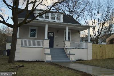 Capitol Heights Single Family Home For Sale: 1106 Mentor Avenue