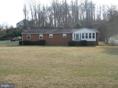 King George VA Single Family Home For Sale: $379,000