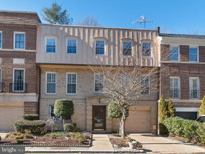 Washington Townhouse For Sale: 2769 Unicorn Lane NW
