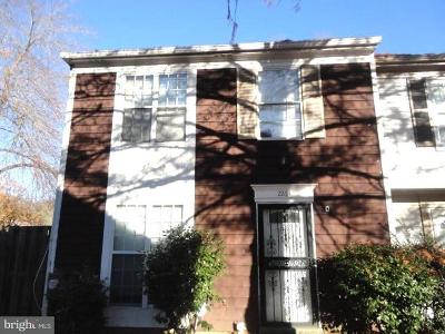 Bowie MD Townhouse For Sale: $260,000