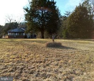 King George VA Single Family Home For Sale: $63,000
