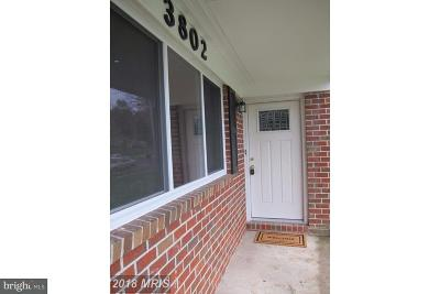 Baltimore County Rental For Rent: 3802 Nemo Road