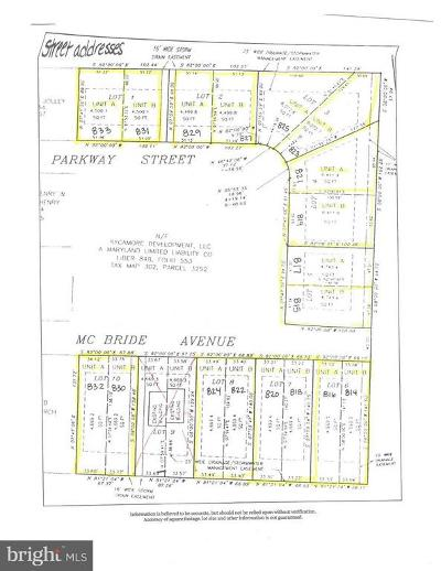 DORCHESTER COUNTY, Dorchester County Residential Lots & Land For Sale: 815 Parkway Street
