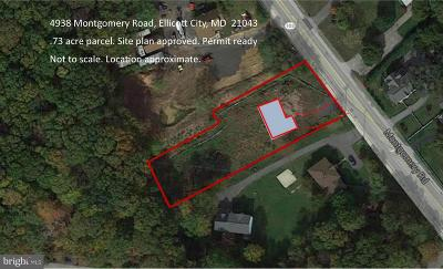 Harford County, Howard County Residential Lots & Land For Sale: 4938 Montgomery Road