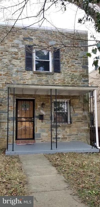 Washington Townhouse For Sale: 2019 Alabama Avenue SE