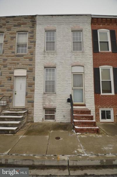Federal Hill Townhouse For Sale: 1825 S Hanover Street
